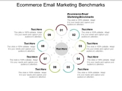 Ecommerce Email Marketing Benchmarks Ppt PowerPoint Presentation Inspiration Vector Cpb