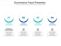 Ecommerce Fraud Prevention Ppt PowerPoint Presentation Show Guidelines Cpb Pdf