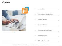 Ecommerce Management Content Ppt File Layouts PDF