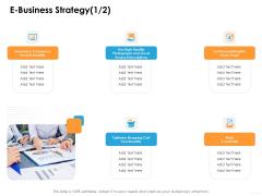 Ecommerce Management E Business Strategy Product Ppt Model Images PDF