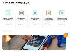 Ecommerce Management E Business Strategy Social Ppt Show PDF