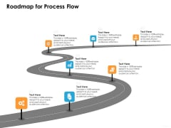 Ecommerce Management Roadmap For Process Flow Ppt Styles Backgrounds PDF