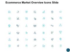 Ecommerce Market Overview Icons Slide Social Ppt PowerPoint Presentation Portfolio Inspiration