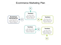 Ecommerce Marketing Plan Ppt PowerPoint Presentation File Styles Cpb