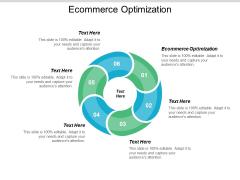 Ecommerce Optimization Ppt PowerPoint Presentation Model Maker Cpb