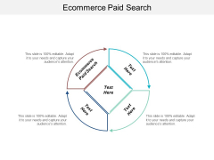 Ecommerce Paid Search Ppt PowerPoint Presentation Show Guide Cpb