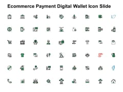 Ecommerce Payment Digital Wallet Icon Slide Technology Ppt PowerPoint Presentation Icon Objects