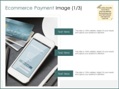 Ecommerce Payment Image Ppt PowerPoint Presentation Deck