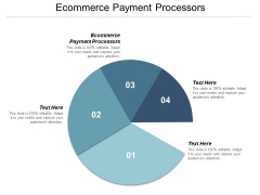 Ecommerce Payment Processors Ppt PowerPoint Presentation Layouts Example File