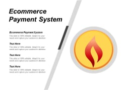 Ecommerce Payment System Ppt PowerPoint Presentation Styles Templates Cpb