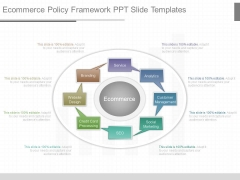Ecommerce Policy Framework Ppt Slide Templates