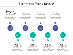 Ecommerce Pricing Strategy Ppt PowerPoint Presentation Tips Cpb