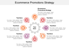 Ecommerce Promotions Strategy Ppt PowerPoint Presentation File Icon Cpb