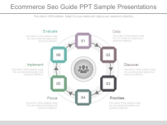 Ecommerce Seo Guide Ppt Sample Presentations