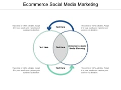 Ecommerce Social Media Marketing Ppt PowerPoint Presentation Inspiration Skills Cpb