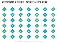 Ecommerce Solution Providers Icons Slide Ppt Inspiration Skills PDF