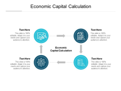 Economic Capital Calculation Ppt PowerPoint Presentation Gallery Themes Cpb