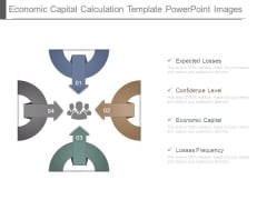 Economic Capital Calculation Template Powerpoint Images