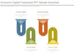 Economic Capital Framework Ppt Sample Download