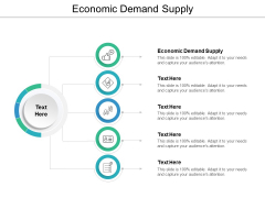 Economic Demand Supply Ppt PowerPoint Presentation Summary Files Cpb