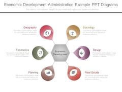 Economic Development Administration Example Ppt Diagrams