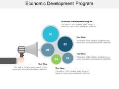 Economic Development Program Ppt PowerPoint Presentation Professional Layout Cpb