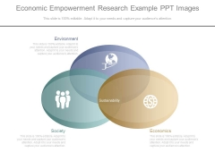 Economic Empowerment Research Example Ppt Images