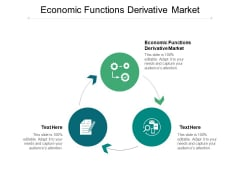 Economic Functions Derivative Market Ppt PowerPoint Presentation Portfolio Objects Cpb