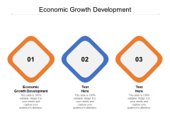 Economic Growth Development Ppt PowerPoint Presentation Outline Cpb