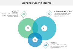 Economic Growth Income Ppt PowerPoint Presentation Pictures Deck Cpb