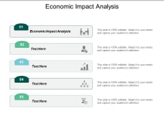 Economic Impact Analysis Ppt PowerPoint Presentation Model Vector Cpb