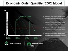 Economic Order Quantity Eoq Model Ppt PowerPoint Presentation Ideas Templates