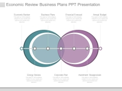 Economic Review Business Plans Ppt Presentation