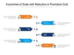 Economies Of Scale With Reduction In Promotion Cost Ppt PowerPoint Presentation File Elements PDF