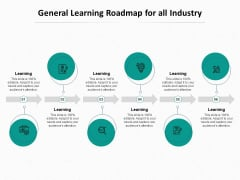 Ed Journey General Learning Roadmap For All Industry Ppt Ideas Portfolio PDF