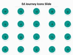Ed Journey Icons Slide Ppt Pictures Themes PDF