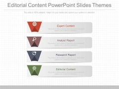Editorial Content Powerpoint Slides Themes