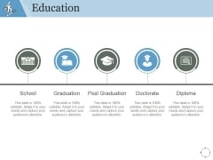 Education Ppt PowerPoint Presentation Outline