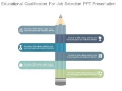 Educational Qualification For Job Selection Ppt Presentation