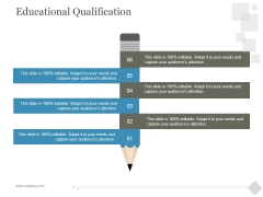 Educational Qualification Ppt PowerPoint Presentation Ideas