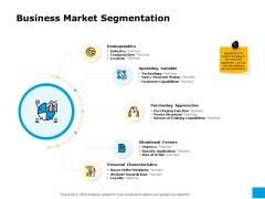 Effective Advertising And Sales Management Business Market Segmentation Ppt PowerPoint Presentation Styles Slides PDF