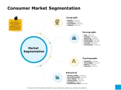 Effective Advertising And Sales Management Consumer Market Segmentation Ppt PowerPoint Presentation Summary Diagrams PDF