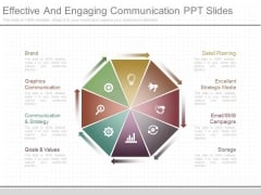 Effective And Engaging Communication Ppt Slides
