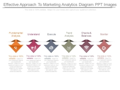 Effective Approach To Marketing Analytics Diagram Ppt Images