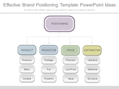 Effective Brand Positioning Template Powerpoint Ideas