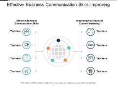 Effective Business Communication Skills Improving Your Inbound Content Marketing Ppt PowerPoint Presentation Slides Topics