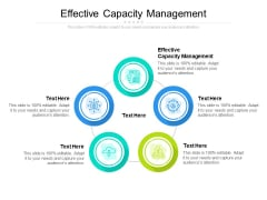 Effective Capacity Management Ppt PowerPoint Presentation Show Example File Cpb