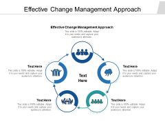 Effective Change Management Approach Ppt PowerPoint Presentation Pictures Designs Cpb