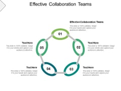 Effective Collaboration Teams Ppt PowerPoint Presentation Pictures Graphics Cpb