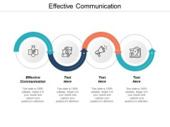 Effective Communication Ppt PowerPoint Presentation Pictures Background Designs Cpb